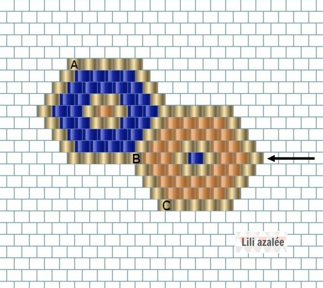 diagramme-bracelet-hexagones
